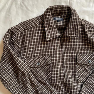 ヤエカ(YAECA)の90s スウィングトップ チェックシャツ ネルシャツ(ブルゾン)