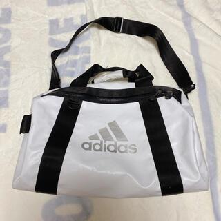 アディダス(adidas)の【値下げ】アディダス ボストンバッグ 白 adidas(ボストンバッグ)