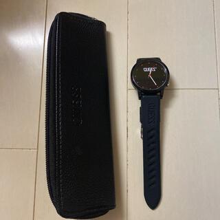 GUESS - GUESS 腕時計 シリコン 黒
