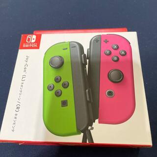 Nintendo Switch - 任天堂 Switch Joy-Con ネオングリーン ネオンピンク