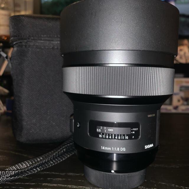 SIGMA(シグマ)のSIGMA art 14mmF1.8 Nikon 最終値下げ スマホ/家電/カメラのカメラ(レンズ(単焦点))の商品写真