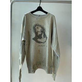 レディメイド(LADY MADE)のL 新品 SAINT MICHAEL SM2 クルースウェットシャツ 正規品(スウェット)