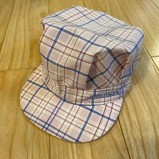 mont bell - 美品 モンベル キャスケット ベビー帽子 46〜50cm