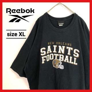 リーボック(Reebok)の90s 古着 リーボック カレッジTシャツ オーバーサイズ ニューオーリンズ(Tシャツ/カットソー(半袖/袖なし))