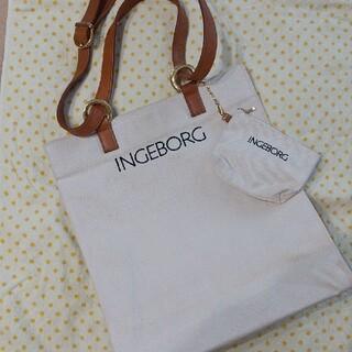 インゲボルグ(INGEBORG)のインゲボルグ ピンクハウス 2way トートバッグ ショルダーバック(ショルダーバッグ)