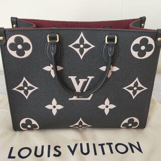 LOUIS VUITTON - ルイヴィトン 限定新作 レア ジャイアント モノグラム クラフティ オンザゴー