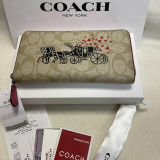 COACH - COACH 新品未使用 coach コーチ 長財布  F91571
