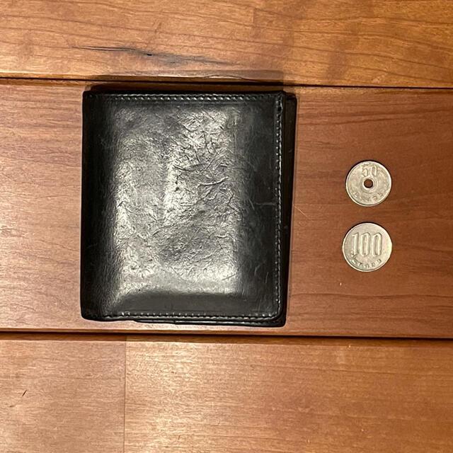 WHITEHOUSE COX(ホワイトハウスコックス)のwhitehouse cox s1975 vintage bridle 黒 メンズのファッション小物(折り財布)の商品写真