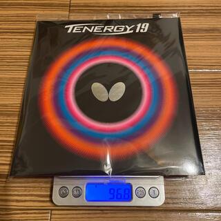 バタフライ(BUTTERFLY)のbutterfly(タマス) テナジー19 トクアツ(2.1mm) 黒(卓球)