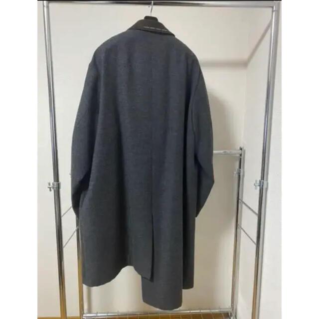 kolor(カラー)の【早い者勝ち】 kolor カラー 19AW アシンメトリーコート サイズ3 メンズのジャケット/アウター(ステンカラーコート)の商品写真