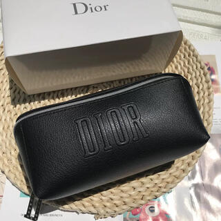 Dior  ディオール オリジナル スクエア ポーチ ブラック