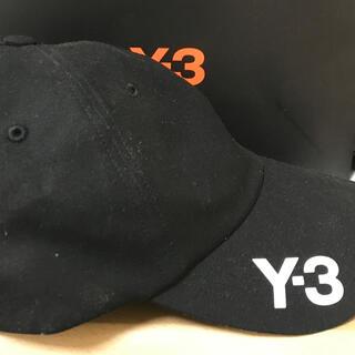Y-3 - Y-3 ロゴキャップ 黒