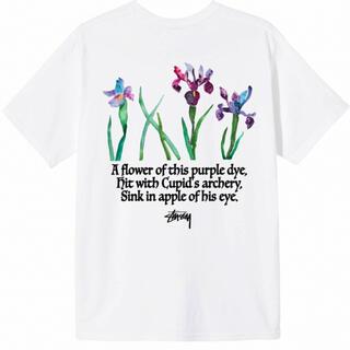 STUSSY - stussy WATER FLOWERS TEE  tシャツ