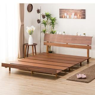 ニトリ - ウッド ベッドフレーム