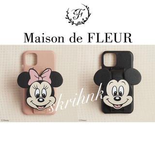 Maison de FLEUR - ♡限定♡メゾンドフルール♡ミニーマウス♡iPhone11ケース♡コラボ♡新品♡