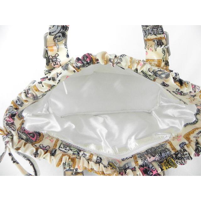 HYSTERIC MINI(ヒステリックミニ)の【美品】ヒステリックミニ ヒスミニ フリル トートバッグ ポーチ付き レディースのバッグ(トートバッグ)の商品写真
