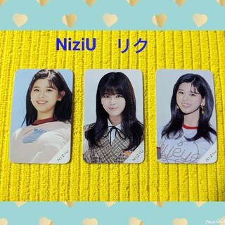 NiziUフォトメッセージカード トレカ(リク)