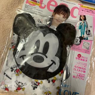 Disney - steady.☆ミッキーフェイス型収納エコバッグ☆新品☆