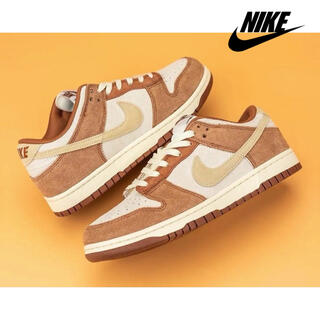 "NIKE - NIKE - Dunk Low Retro PRM ""Midium Curry"""