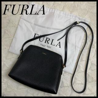 Furla - 【極美品】FURLA ブラック フルラ ショルダーバッグ