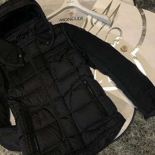 MONCLER - モンクレール 国内正規品 RYAN サイズ0 ブラック ジャパンタグ 美品