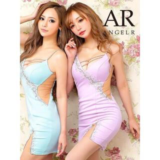エンジェルアール(AngelR)の21808*スプリングパープル/パールデコレーションドレス(その他)
