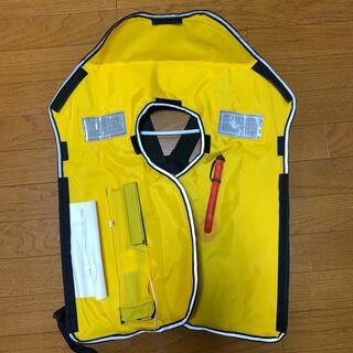 LG-1型 自動膨張ショルダー式 ライフジャケット [中古](ウエア)