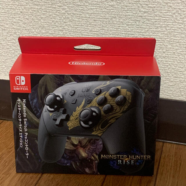 Nintendo Switch(ニンテンドースイッチ)のNintendo NINTENDO SWITCH PROコントローラー  エンタメ/ホビーのゲームソフト/ゲーム機本体(その他)の商品写真