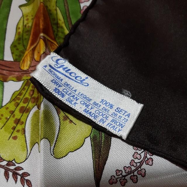 Gucci(グッチ)のGUCCI スカーフ 正規品 レディースのファッション小物(バンダナ/スカーフ)の商品写真