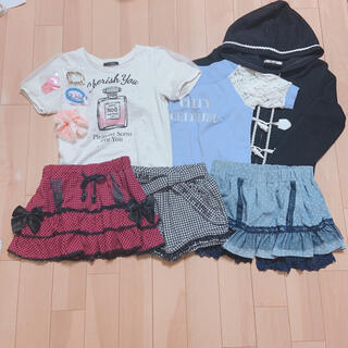 リズリサ(LIZ LISA)の子供服 女の子 150cm まとめ売り(Tシャツ/カットソー)