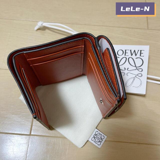 LOEWE(ロエベ)のLOEWE 1点のみ! アナグラム6CCトリフォルドミニ財布  レディースのファッション小物(財布)の商品写真