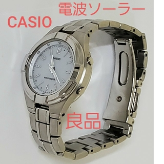 カシオ(CASIO)のCASIO 電波ソーラー タフソーラー 腕時計 ウェーブセプター カシオ(腕時計)