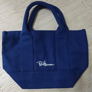Ron Herman - 緊急入荷✩大人気商品✩ロンハーマンミニトートバッグ ネイビー トートバッグ