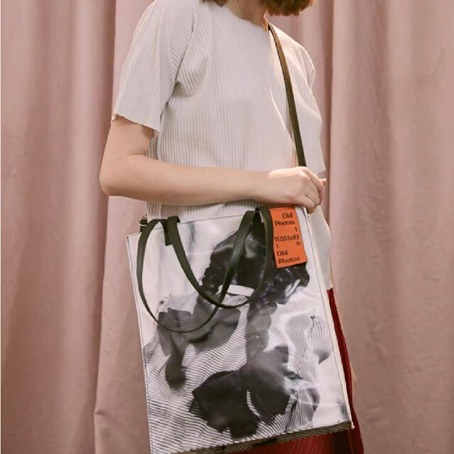 RAF SIMONS(ラフシモンズ)の[新品/即発送] film photo tote bag#No.21 Whi メンズのバッグ(トートバッグ)の商品写真