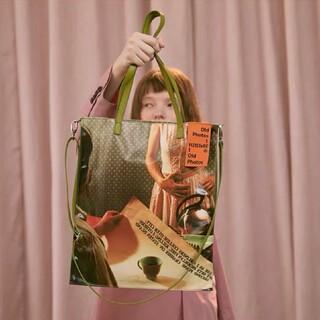 ラフシモンズ(RAF SIMONS)の[新品/即発送] film photo tote bag#No.21 Green(トートバッグ)