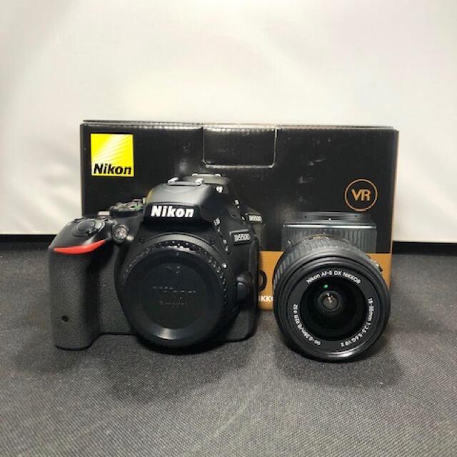 Nikon(ニコン)のNikon ニコン D5500 18-55 VR Ⅱ KIT オマケ付き スマホ/家電/カメラのカメラ(デジタル一眼)の商品写真