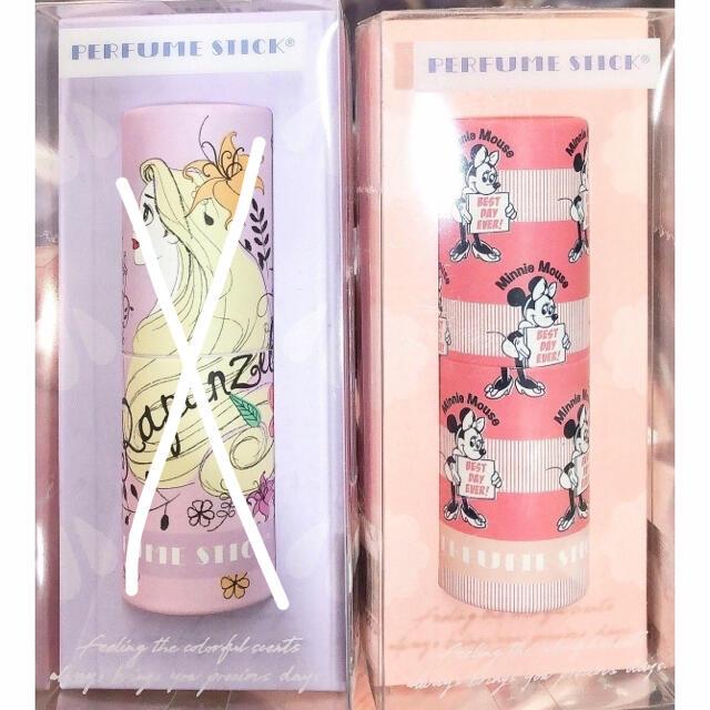 disney ミニー 固形 香水 練香水 パフュームスティック 香水 匂 ハッピ エンタメ/ホビーのおもちゃ/ぬいぐるみ(キャラクターグッズ)の商品写真
