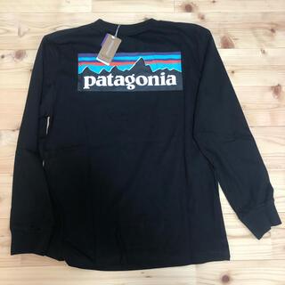 patagonia - パタゴニア Patagonia ロンT Lサイズ 黒ブラック