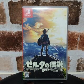 ニンテンドウ(任天堂)のゼルダの伝説 ブレイス オブ ザワイルド Nintendo Switch ソフト(家庭用ゲームソフト)