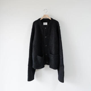 SUNSEA - stein KID MOHAIR CARDIGAN Black size S