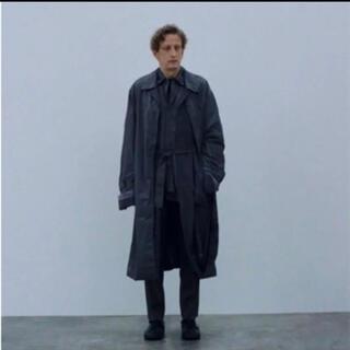 SUNSEA - Stein 21ss oversized wind coat black s