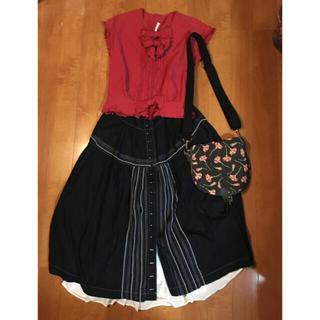 カネコイサオ(KANEKO ISAO)の専用です。ワンダフルワールド スカート(セット/コーデ)