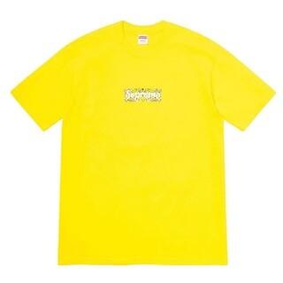 シュプリーム(Supreme)のSUPREME バンダナ ボックスロゴ 2020SS 黄色 シュプリーム(Tシャツ/カットソー(半袖/袖なし))