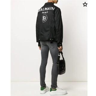BALMAIN ジャケット アウター バルマン 黒 size38 (M)(Gジャン/デニムジャケット)