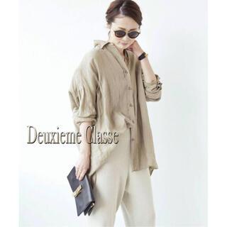 L'Appartement DEUXIEME CLASSE - Deuxieme Classe★WIDE LINENシャツ アパルトモン