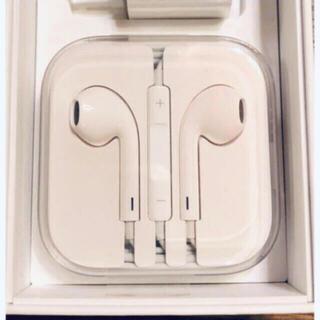 Apple - 新品 アップル純正イヤホン iPhone 6 付属品 ジャックタイプ