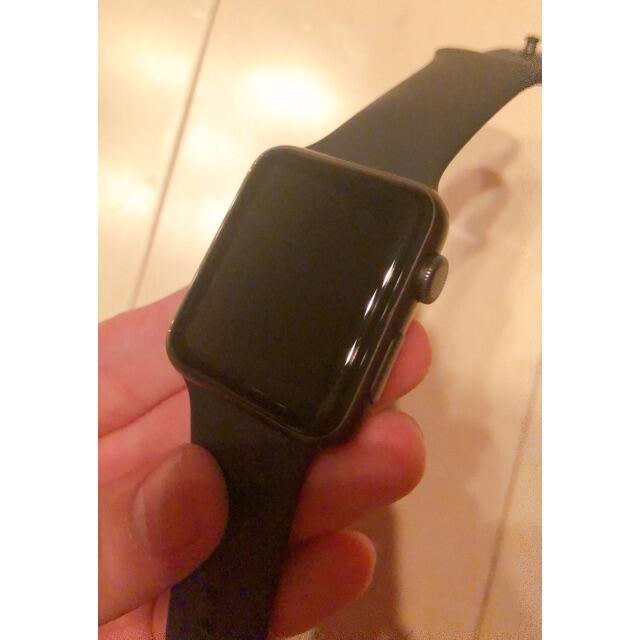 Apple Watch(アップルウォッチ)の Apple Watch 3 42mm GPSモデル メンズの時計(腕時計(デジタル))の商品写真