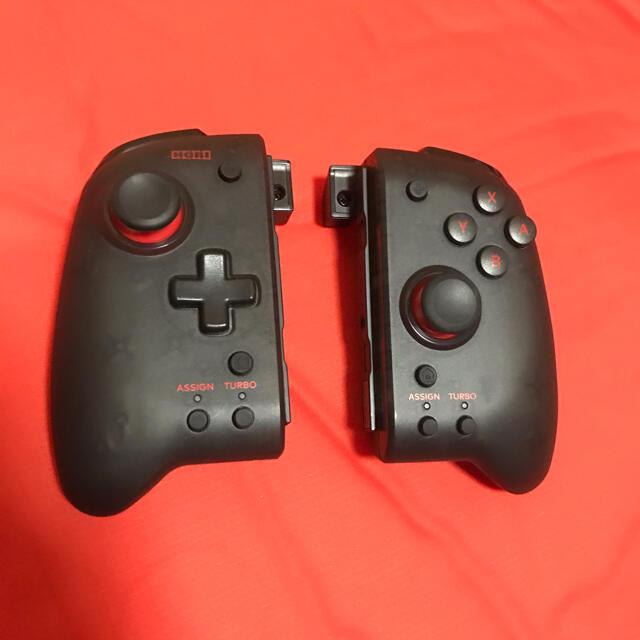 Nintendo Switch(ニンテンドースイッチ)のグリップコントローラー NintendoSwitch ホリ エンタメ/ホビーのゲームソフト/ゲーム機本体(その他)の商品写真