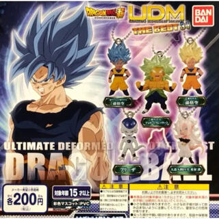 ドラゴンボール超 UDM THE BEST 34 全5種セット(アニメ/ゲーム)