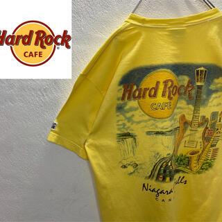 ロックハード(ROCK HARD)のバックロゴ ハードロックカフェ ビッグロゴ 定番プリント L Tシャツ(Tシャツ/カットソー(半袖/袖なし))